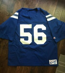 best website 0f282 b73df Details about Indianapolis Colts Jersey. Champion Brand 80s Vintage #56  Quenton Nelson.