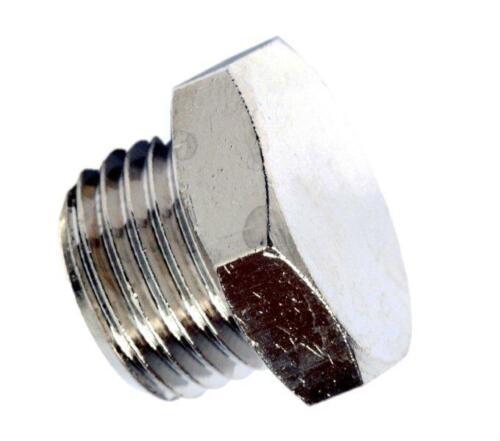 "Pz.10 Plugs Male Hex External bsp 1//4/"" cod.45202 Compressed Air-plug"