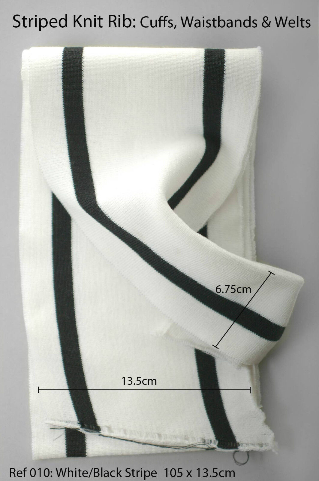 Neotrims Knit Rib Cuff Waistband Fabric Trimming Bomber Jackets Panels Wholesale