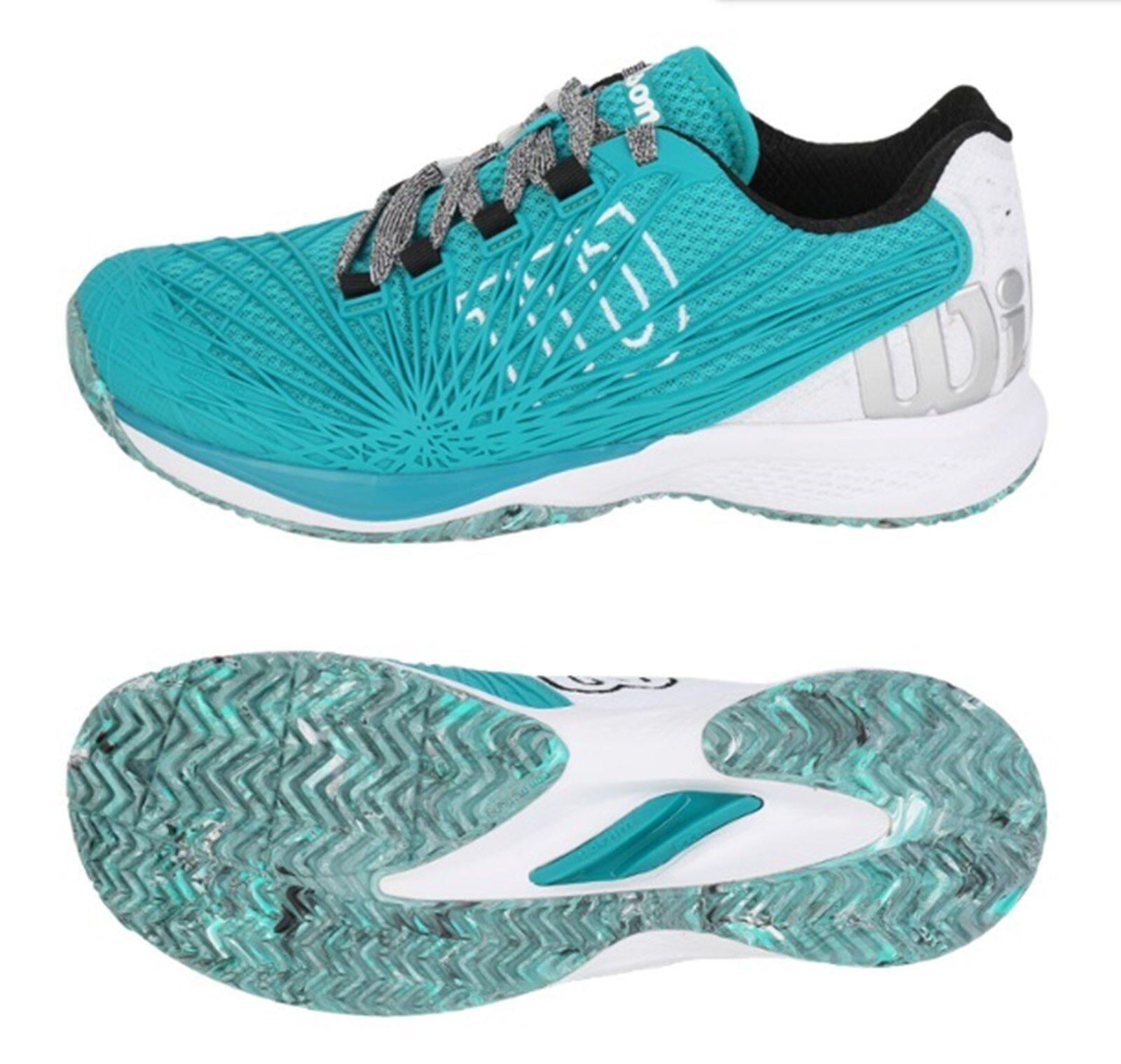 Wilson Hommes Kaos 2.0 Tennis chaussures FonctionneHommest Mint Whcravate paniers GYM chaussures WRS323530