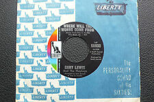 "7"" Gary Lewis & The Playboys - Where Will The Words Come From - US Liberty"