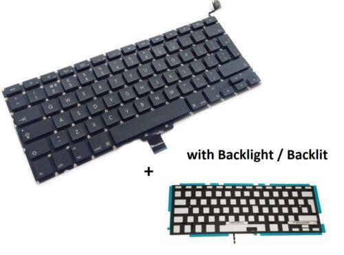 """Apple Macbook Pro A1278 13.3/""""  Laptop Keyboard 2009-2012 UK Layout backlight"""