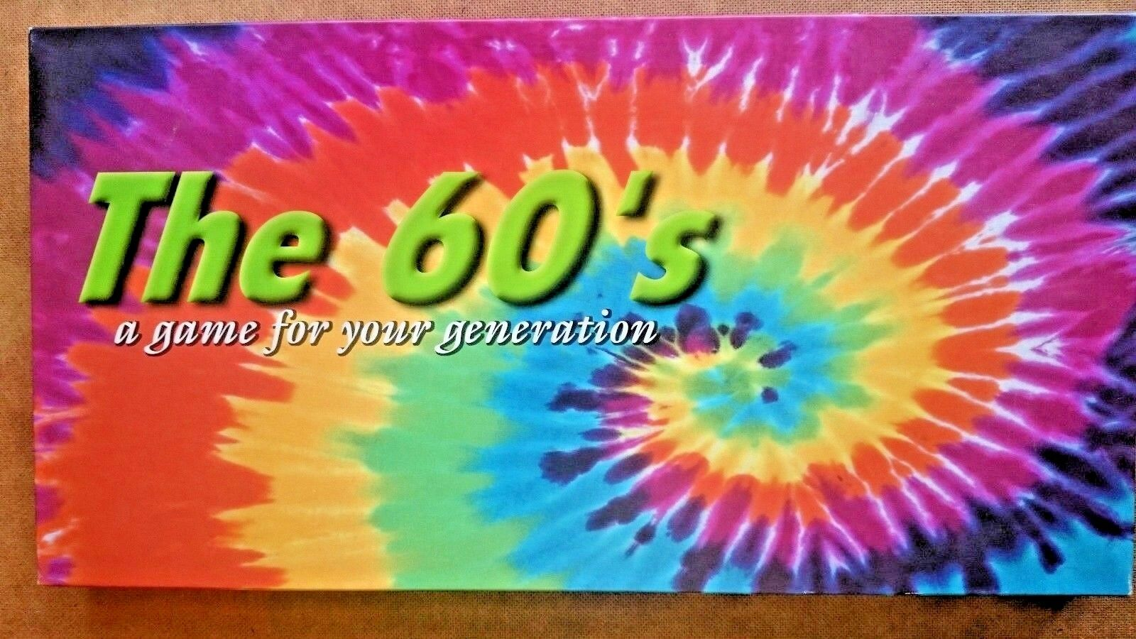 Monopoly  The 60s  A Game for Your Generation Limited Edition Unplayed