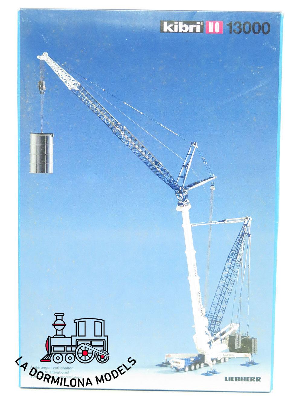 KIBRI 13000 LIEBHERR LTM 1800 Tele-Derrick GRUA GRANDES DIMENSIONES  - NEW