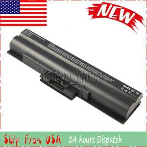 BATTERIA 4400mah per Sony VAIO pcg-3g2m pcg-3f1m pcg-3e1m pcg-3d1m pcg-3c1m pcg-3b1m