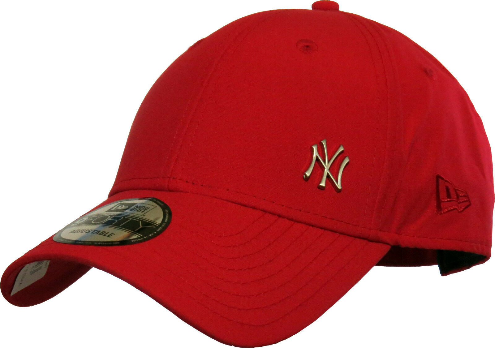 2ba4db2127319 Era MLB Flawless Logo 9forty Adjustable Cap NY Yankees Red One Size for sale  online | eBay