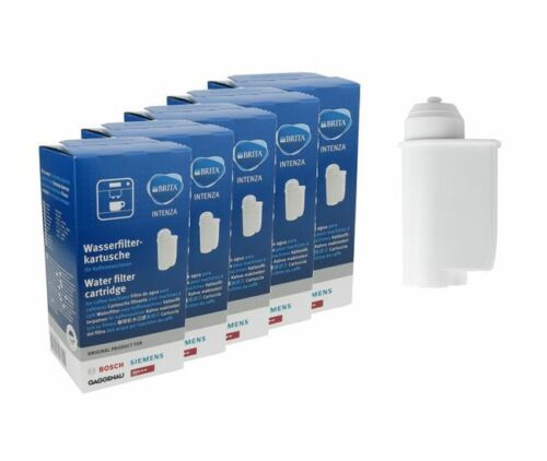 5xOriginal Brita Intenza Wasserfilter 467873 Bosch,Siemens,Gaggenau,Neff TZ70003