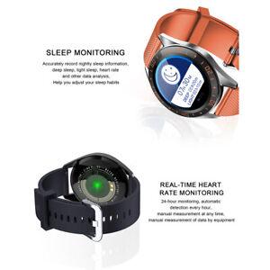 Smartwatch Sportuhr mit Herzfrequenz Blutsauerstoffüberwachung Schlafmonitor