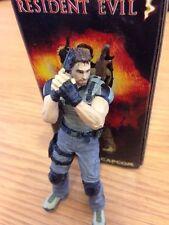 Chris Redfield Figura Resident Evil 5 CAPCOM Giocatore di selezionare Neca da collezione Nuovo di zecca con scatola