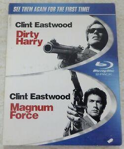 DIRTY-HARRY-MAGNUM-FORCE-BLU-RAY-SLIPCOVER-ONLY-NO-DISCS-OR-CASES-INCLUDED