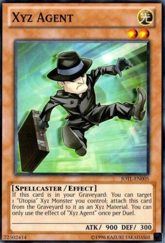 Xyz Agent JOTL-EN005 Common Yu-Gi-Oh Card New U