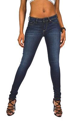 PEPE Jeans PIXIE T41 OLIVE Mid Waist Skinny Fit Jeggings Größe W27 oder W30