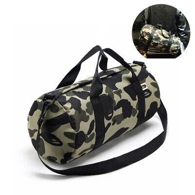 BAPE A BATHING APE Green Camo Handbag Purse Storage Pack Credentials Bag