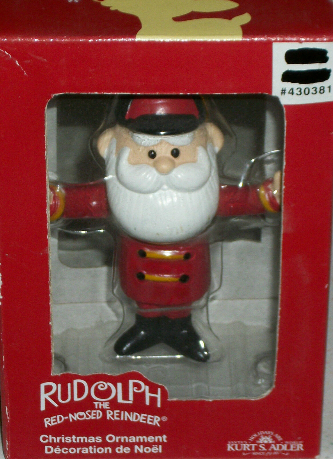 Rudolph The Red Nosed Reindeer Rankin Bass Santa Claus Xmas Island of Misfit Toy