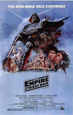STAR WARS EPISODE FIVE V THE EMPIRE STRIKES BACK Movie Poster Return Jedi