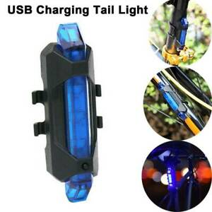 USB-Rechargeable-Rainproof-LED-Warning-Light-Mountain-Bicycle-Taillight