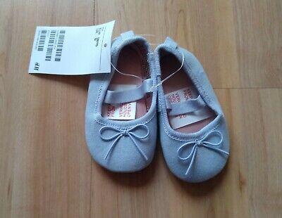 *h&m* Ballerinas *flieder* Gr. 14/15 Neu M. Etikett!!! Herausragende Eigenschaften