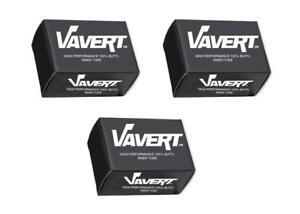 Presta 60mm Long Valve Vavert 700 x 18-25c Road Bike Inner Tubes Set of 5