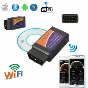 ELM327 WIFI OBD2 OBDII Car Diagnostic Scanner Scan Tool For iPhone X IOS Android