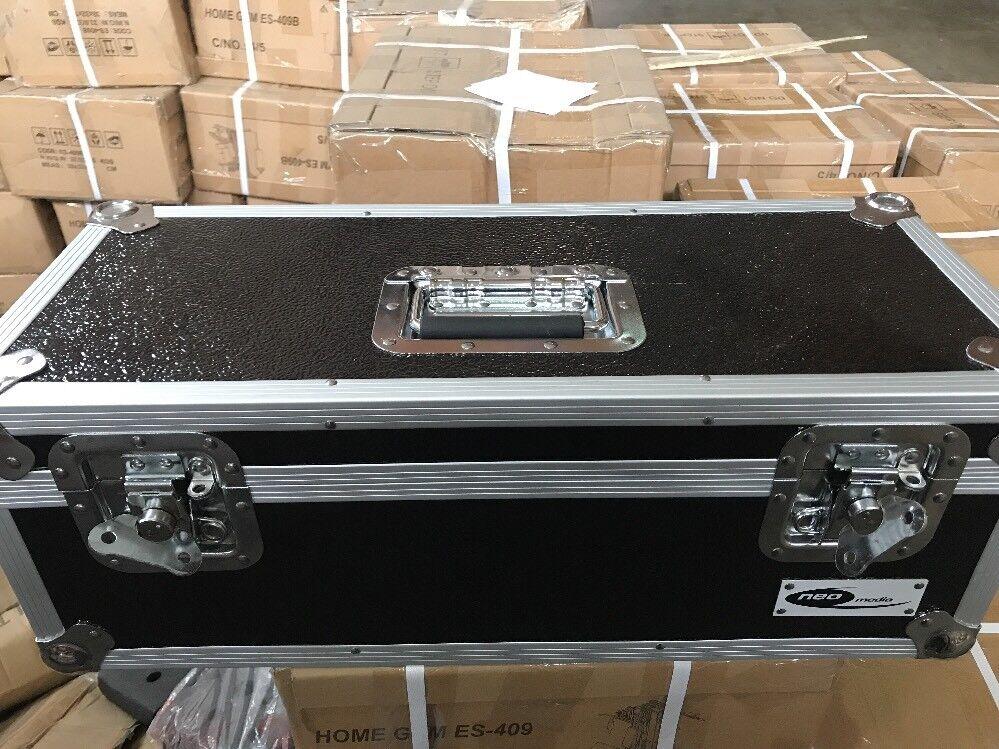 NEO Media 7 pollici 300 LP DJ BOX di stoccaggio-Nero