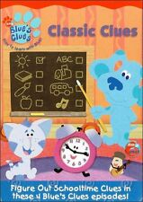 BLUE'S CLUES: CLASSIC CLUES - DVD - Region 1 - Sealed