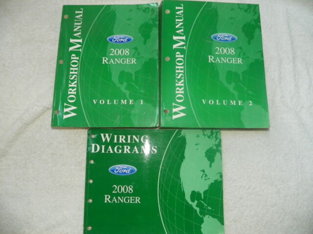 2008 Ford Ranger Workshop Manuals And Wiring Diagrams