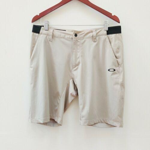 "Oakley| Men's Khaki Shorts Tailored Fit 34 10"" ins"