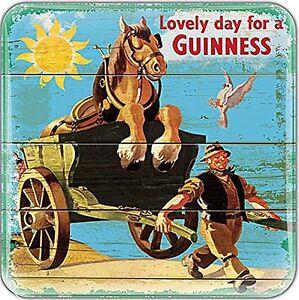Guinness Cheval & Chariot Époxy AIMANT de Réfrigérateur 75mm X 75mm (Sg ) lgHDibzu-09161655-688804846