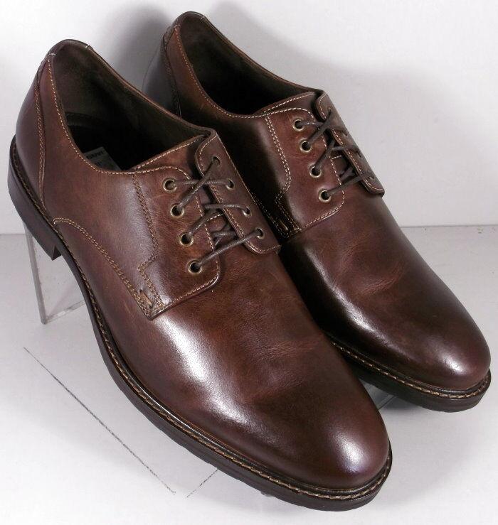 592338 MS50 Men's Size 9 M Brown Leather Lace Up shoesJohnston & Murphy