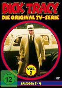 Dick Tracy Vol. 1 - Episoden 1-4 - DVD Krimi Komödie Gebraucht - Gut