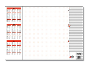 Details About A2 59x41cm Paper Sheet Desk Jotter Pad With A3 Year Weekly Planner To Do Notes