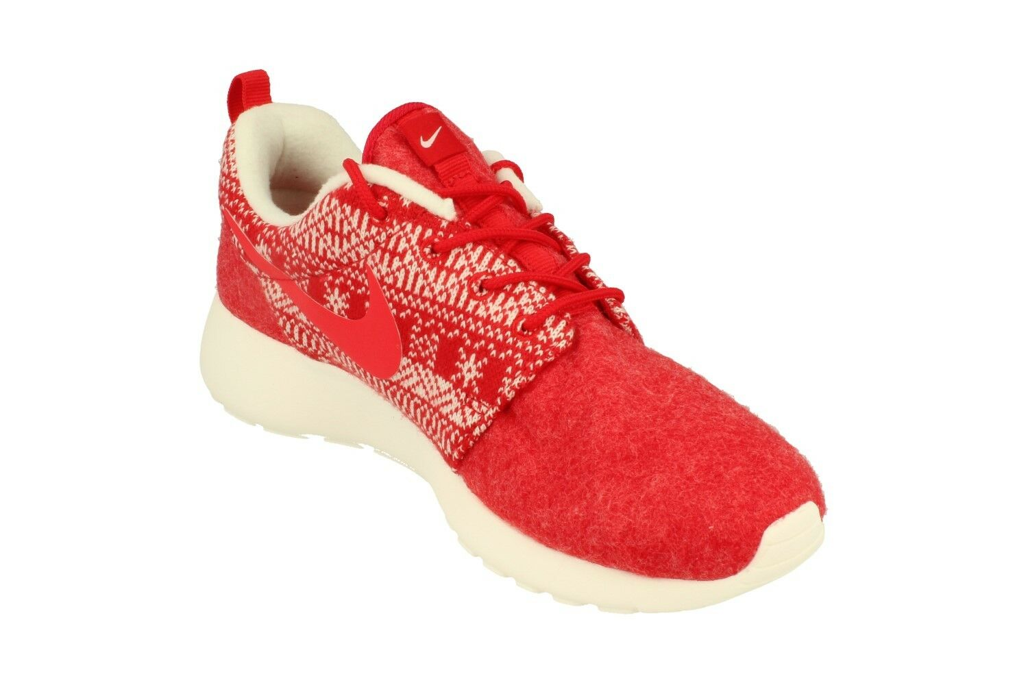 c8d39abef0e2 Nike WMNS Roshe One Winter Christmas Sweater Red White 685286-661 US 6 8.5  2015 US 7 EUR 38 24cm for sale online