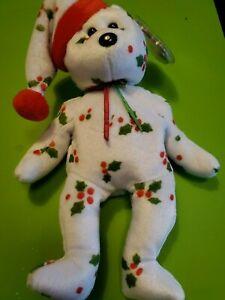1998 holiday teddy beanie baby MWT