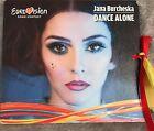 EUROVISION 2017 FYROM MACEDONIA PROMO CD SINGLE JANA BURCHESKA DANCE ALONE