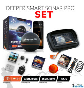 NEUF-Deeper-Smart-Sonar-Pro-SET-Wi-fi-Smartphone-Montage-Nuit-Couverture-XL