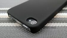 For Apple iPhone 4 4S Thin Hard Slim 1-Piece Case Rubberized Matte Cover
