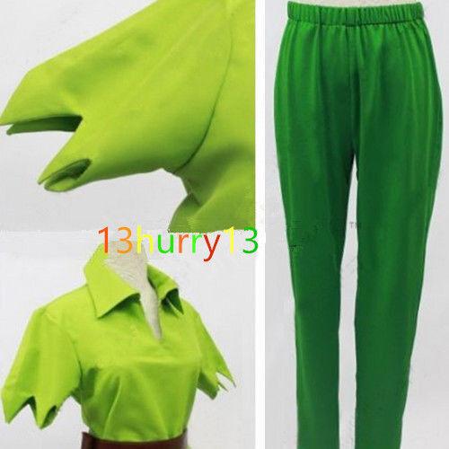 /' NEW Peter Pan Green Fancy Cosplay Costume Custom Made