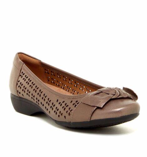 Women Slip Leather Band Couleur Propose Shoes et tailles On Clarks Variété dxqIBwWd