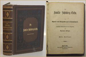 Philippi-Die-Familie-Schoenberg-Cotta-1884-Geschichte-Reformationszeit-sf