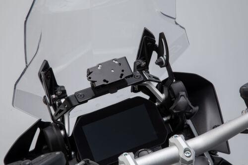 BMW R1200GS Schwarz R1250GS 18- Navi-Halter im Cockpit 12- .SW-MOTECH
