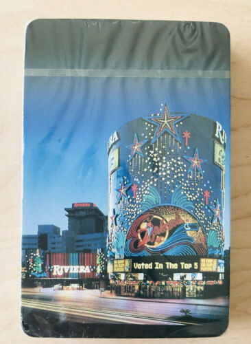 Rivera Las Vegas Hotel /& Casino Vintage Deck of Playing Cards New