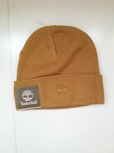 8ef52c4918a Image is loading New-Timberland-Men-039-s-Knit-Beanie-Hat