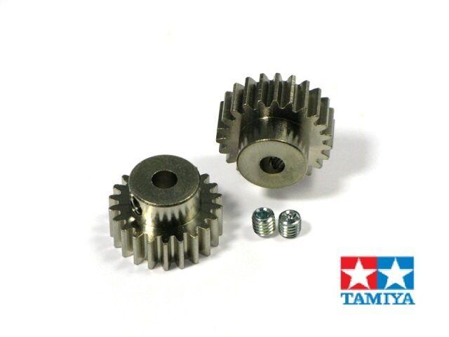 Tamiya 300050354 Pignon de Moteur Pignon 16/17 Dents Module 0,6, 50354 Tuning