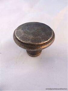 Antico martellato ferro Arti e Mestieri Stile Maniglia Della Porta Manopola Cassetto AC1