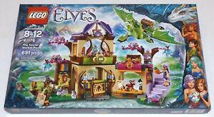 LEGO Elves THE SECRET MARKET PLACE 41176 RETIRED Thorne Earth dragon book
