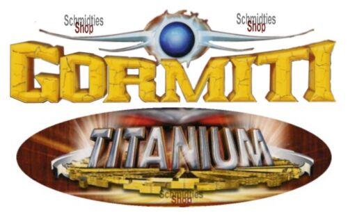 Gormiti Titanium-choisissez vos personnages!