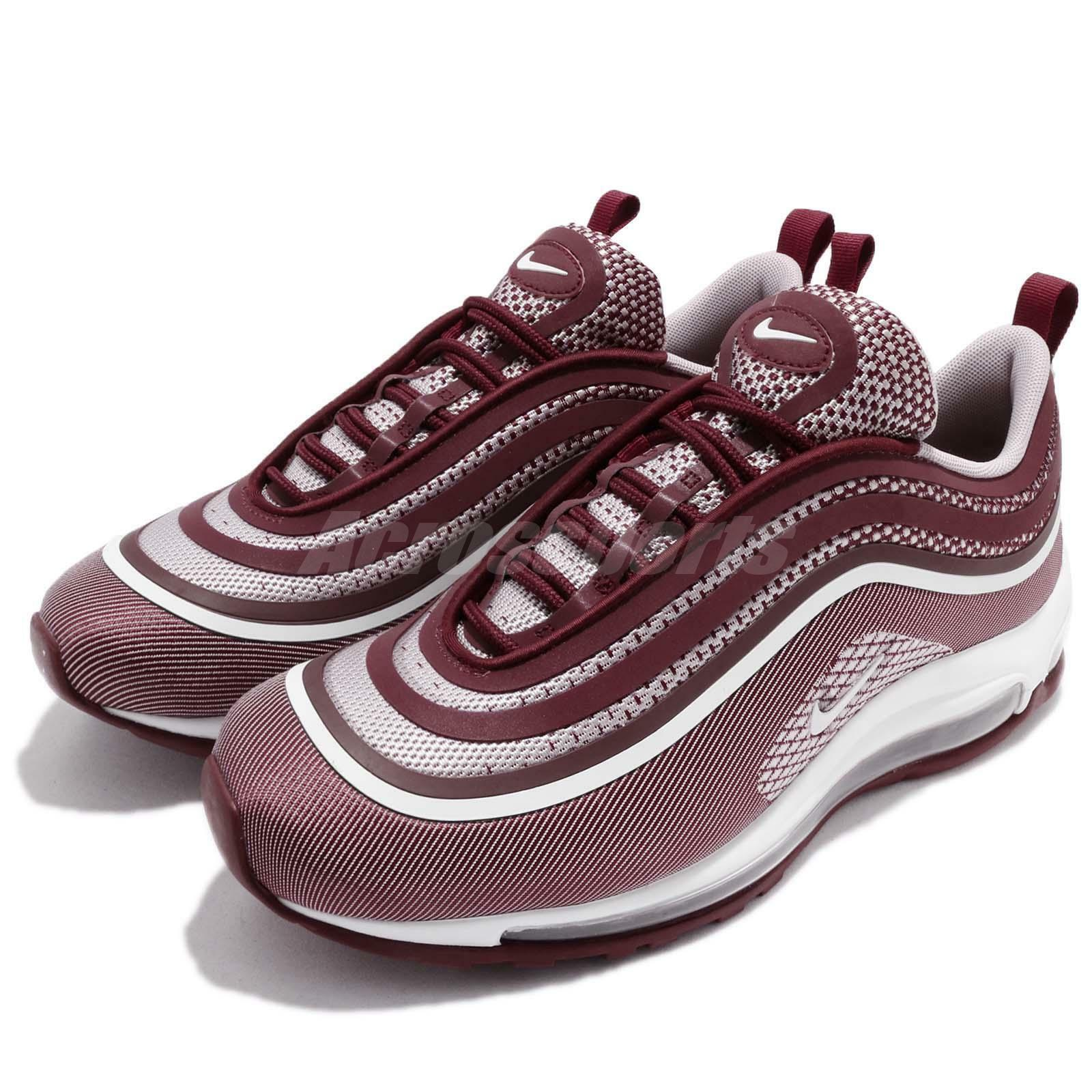 Nike Air Max 97 UL 17 Ultra Team Red White Uomo Running Shoes  918356-601
