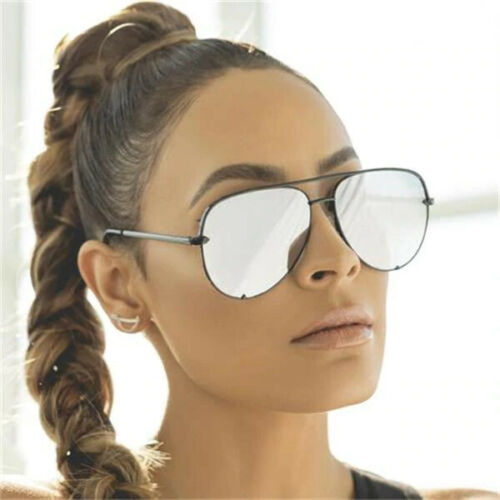QUAY Australia X Desi Perkins High Key Sahara Black Fade Sunglasses Mini Aviator