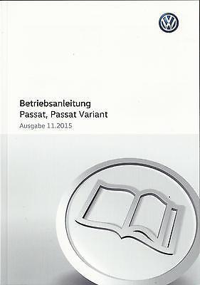 PASSAT VARIANT VW PASSAT ALLTRACK B8 2019 Betriebsanleitung ...