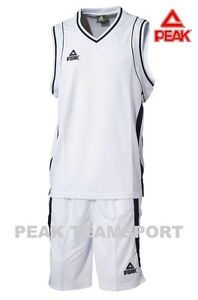 Peak Classic Navy Basketball Team Kit Jersey /& Shorts Set